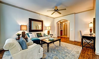 Living Room, The Marquis at Brushy Creek, 1