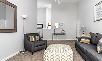 Living Room, Lenoxplace At Garner Station, 1