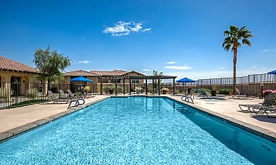 Pool, The Vineyards at Palm Desert Apartment Homes, 1