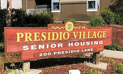Presidio Village Senior Housing, 1