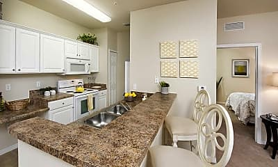 Kitchen, Century Capital City, 1