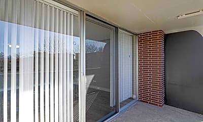 Patio / Deck, Scandia Apartments, 2