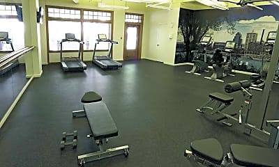 Fitness Weight Room, Crescent Centre, 2