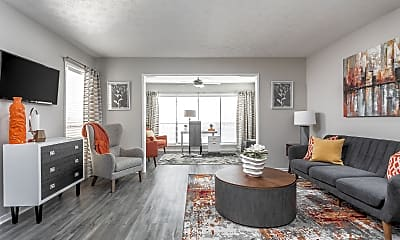 Living Room, The Pointe At Canyon Ridge, 0