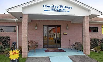 Building, Country Village, 1