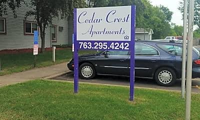 Cedar Crest Apartments, 1