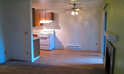 Kitchen, Ensign Apartments, 0