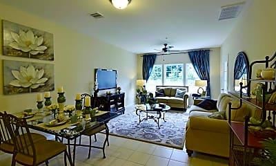 Living Room, Bluestone Commons Senior Community, 1