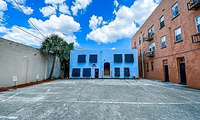Building, 608 Brevard Ave, 1