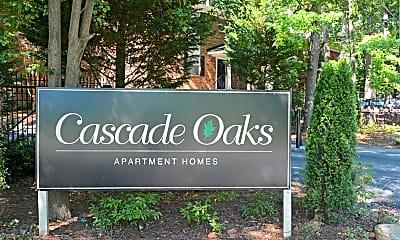 Community Signage, Cascade Oaks, 2