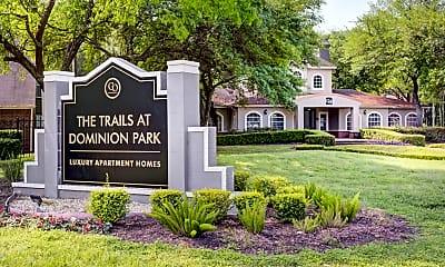 Community Signage, Trails at Dominion Park, 2