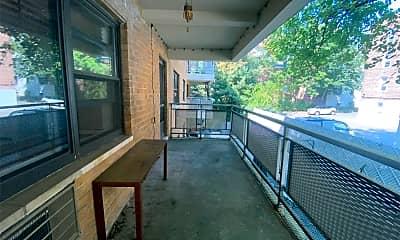 Patio / Deck, 25 Park Pl 2B, 2