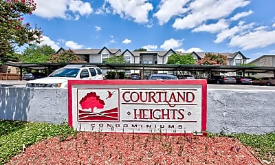 Community Signage, Courtland Heights, 2