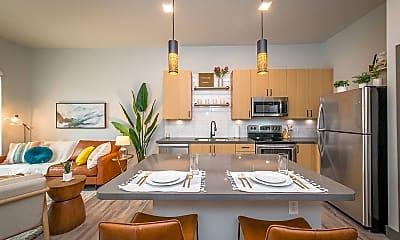 Kitchen, The Maddie Apartments, 1