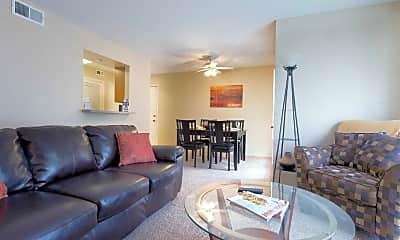 Living Room, Wellington Apartment Homes, 0