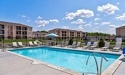 Pool, Apartments At Sauk Trail, 1
