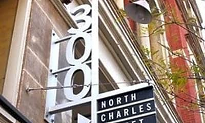 300 N Charles St, 1