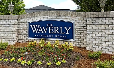 Community Signage, The Waverly, 2
