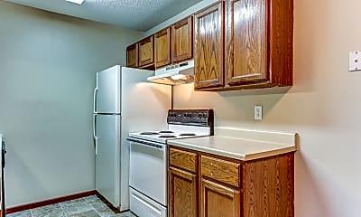 Kitchen, Brick View Apartments, 1