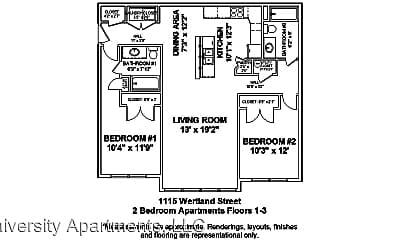 Building, 1115 Wertland St, 2