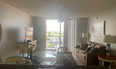 Living Room, 651 Okeechobee Blvd 706, 2