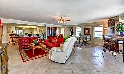 Living Room, 2055 S Atlantic Ave 1501, 1