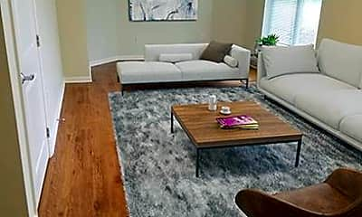 Living Room, Uplands Apartments, 1