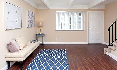 Living Room, Cedar on the Blvd, 1