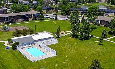 Pool, Laurels of Willow Hill, 1