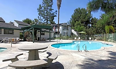 Pool, Pebble Brook Apartments, 0