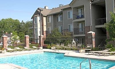 Pool, Jefferson School Apartments, 0