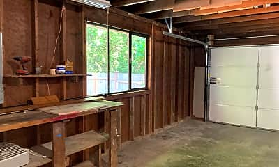 Garage work bench, 5245 West Mercer Way, 1