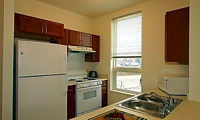 Kitchen, Brewery Point Senior Apartments 55+, 1