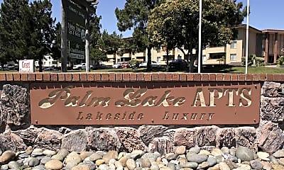 Community Signage, Palm Lake Apartments, 2