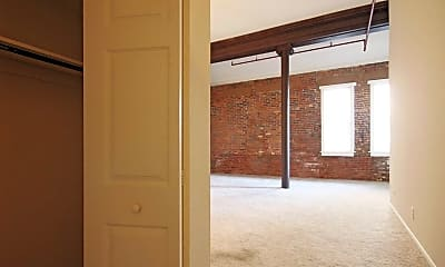Living Room, The Lofts At Greensborough Court, 1