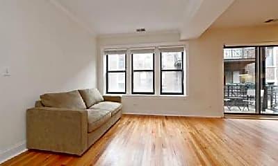 Living Room, 1141 W Grace St, 1
