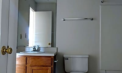 Bathroom, Union Hill Apartments, 1