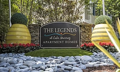 Community Signage, The Legends at Lake Murray, 2