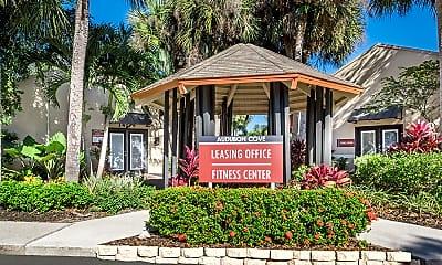 Community Signage, Audubon Cove, 1