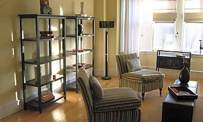Living area, 2201 Chestnut Street, 1