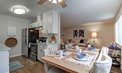 Dining Room, Tuscany Villas Apartment Homes, 0