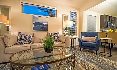 Living Room, 6607 Lake Woodlands, 1