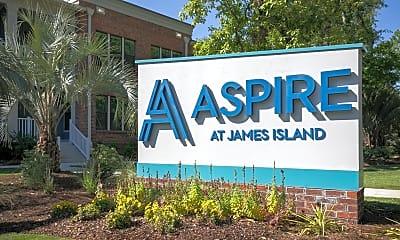 Community Signage, Aspire at James Island, 2