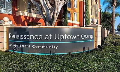Community Signage, Renaissance at Uptown Orange, 1