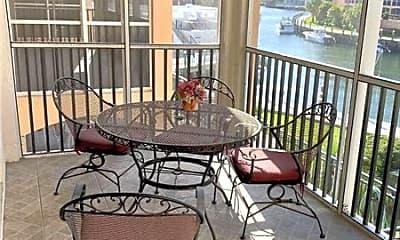 Patio / Deck, 2871 N Ocean Blvd, 0