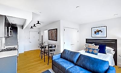 Living Room, 180 Franklin Ave, 1