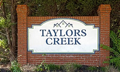 Community Signage, Taylors Creek Mobile Home Community, 2