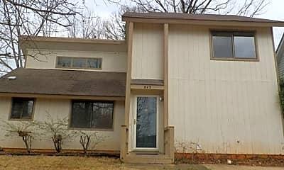 Building, 843 Cheyenne Ave, 1