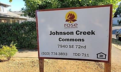 Johnson Creek Commons, 1