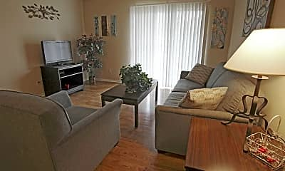 Living Room, Northpointe Apartments, 1